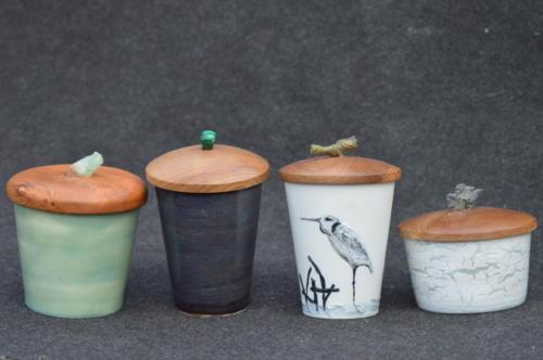 Le Héron (pot céramique)